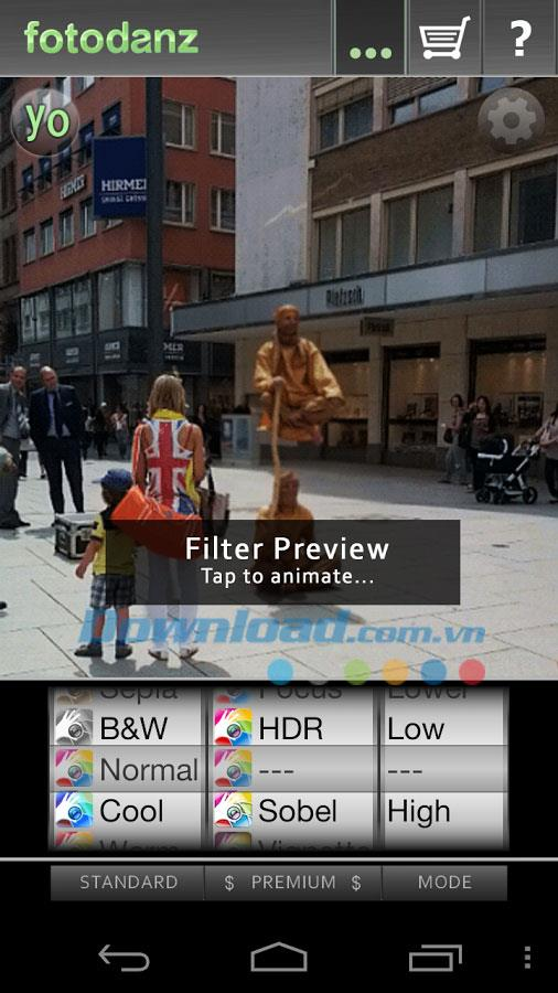 Fotodanz for Android1.6.6-Android用アプリケーションコラージュ