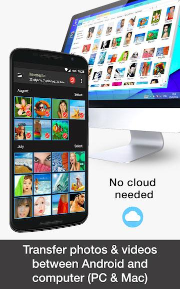 PhotoSync for Android 3.3.4-Androidで写真、ビデオを同期、バックアップ、共有する