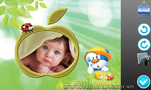Kid Photo Frames für Android - Lustige Fotorahmen für Android