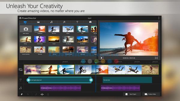 PowerDirector für Android 7.0.0 - Videobearbeitung, professionelles Filmemachen auf Android