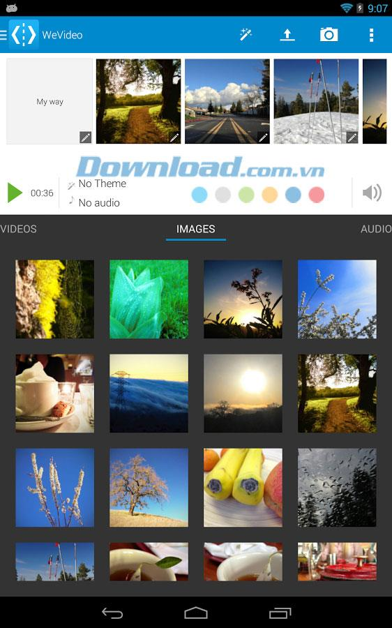 WeVideo für Android 7.0.1 - Videos auf Android aufnehmen und bearbeiten