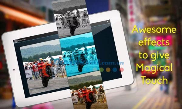 Android1.6用のムービーメーカー-Androidでムービーや写真のスライドショーを作成する