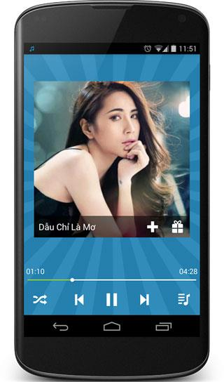 ChaCha Vinaphone für Android 2.5 - Vinaphone Musik-Download-Anwendung
