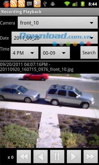 Android5.4.8用のIPCam ViewerPro-カメラのIPアドレスを管理します