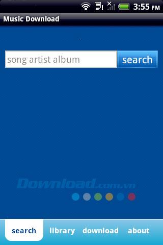 Musik-Download für Android 1.1 - Musik-Download-Tool für Android