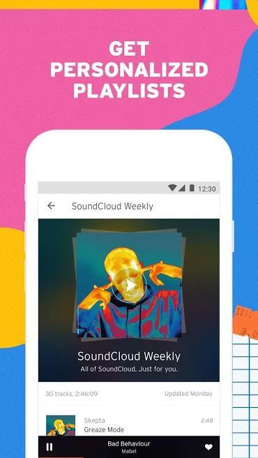 SoundCloud for Android 2020.11.06-リリース-ホットな音楽を聴き、無料で音楽をダウンロード