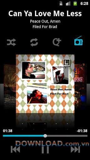 mSpot Music forAndroid-Android用の音楽を聴いたり保存したりするためのアプリケーション