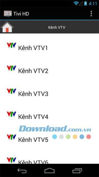 Android1.0.3用ベトナムTV2014-TVを視聴するためのアプリケーション