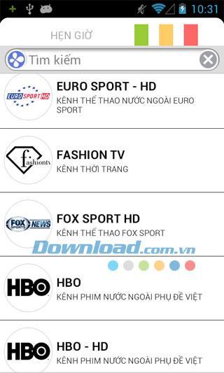 Android3.0.1用HDTV-120以上のTVチャンネルを視聴