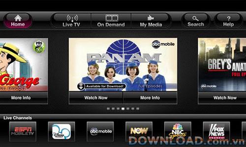 T-Mobile TV forAndroid-AndroidでT-MobileTVを見る