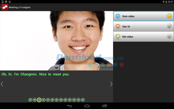 English Central for Android2.3.2-Androidで無料のビデオを通じて英語を学ぶ