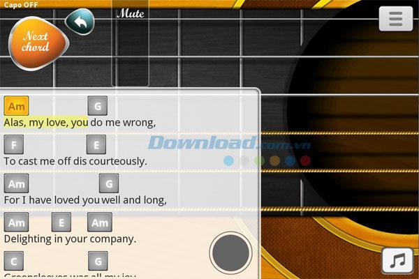 Guitar + für Android - Kostenlose Gitarren-Lern-App für Android
