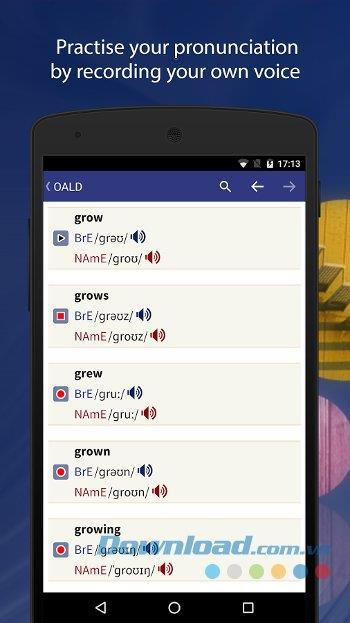 Oxford Advanced Learner's Dict for Android1.1.10-Android用の無料のOxford辞書
