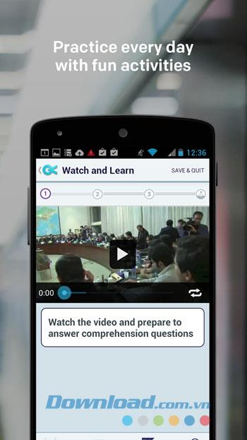 Voxy for Android4.5.0-Androidで効果的に英語を学ぶ