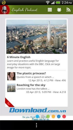 Android1.1の英語リスニング練習-英語リスニング練習ソフトウェア