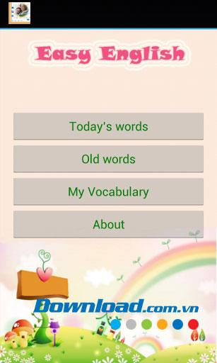 Easy English for Android1.0-Androidで無料で英語を学ぶ