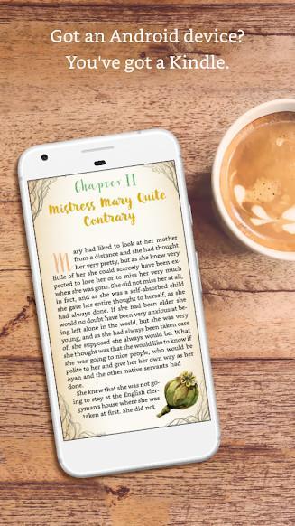 Amazon Kindle für Android - Eine E-Reader-App für Android