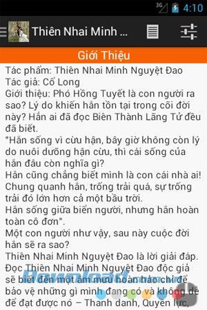 Android8.0用のMinhNguyetDaoを噛むThien-剣の物語