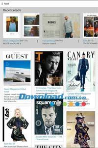 Issuu für Android 2.3.0 - Lesen Sie kostenlose Magazine auf Android