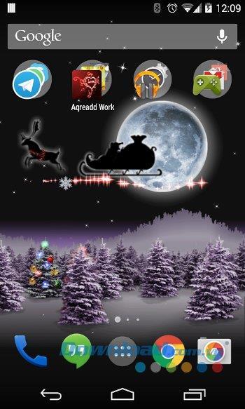 Android3.2.5用のクリスマスライブ壁紙-Android上の美しいクリスマスライブ壁紙