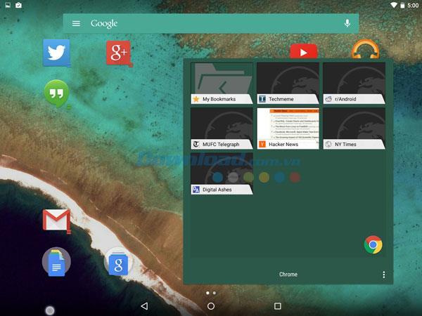 Android3.5.0用のアクションランチャー3-Android上のスマートランチャー