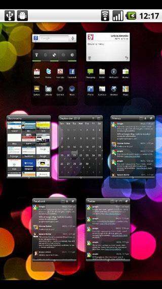 Launcher Pro für Android 0.8.6 - Einzigartige Telefonoberfläche