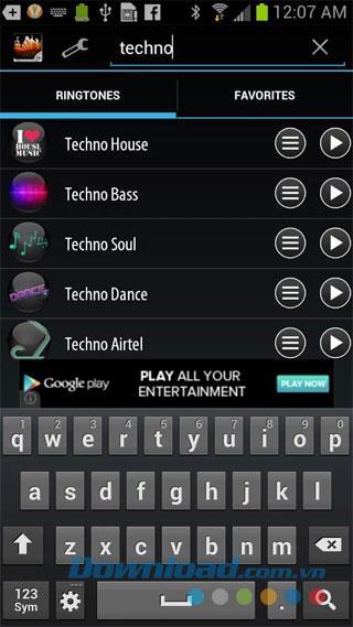 Techno Remix Klingeltöne für Android 7.0.8 - Remix Klingeltöne