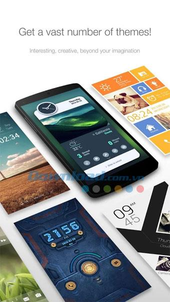 GO Locker für Android - Verbesserter Sperrbildschirm für Android