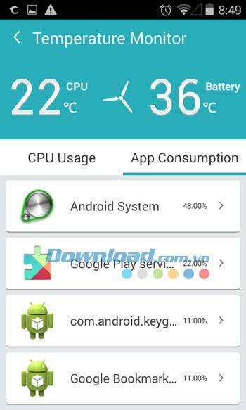 ToolWiz Cleaner for Android4.0.1130-Androidデバイスをクリーンアップして高速化するアプリケーション