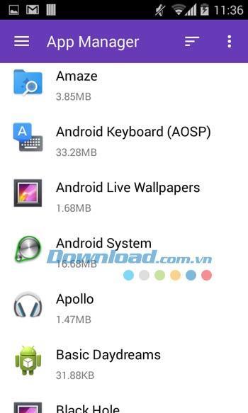 Amaze File Manager für Android 3.1.2 - Leistungsstarke Dateimanager-App für Android