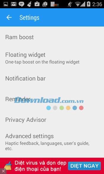 スマートブースター-Android5.4用の無料クリーナー-Android上のスマートブースターツール