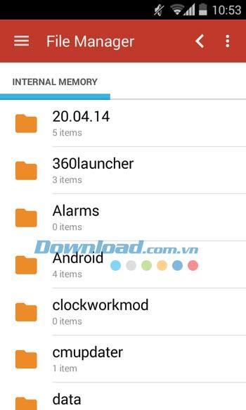 Android用ファイルマネージャー-Androidでファイルを管理する