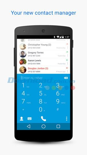 Truedialer-Android1.11のダイヤラと連絡先-Androidのスマートダイヤラ