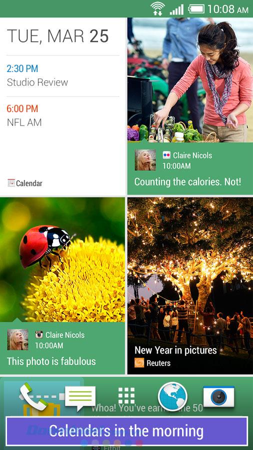 HTC BlinkFeed forAndroid-AndroidのBlinkFeedニュースリーダー