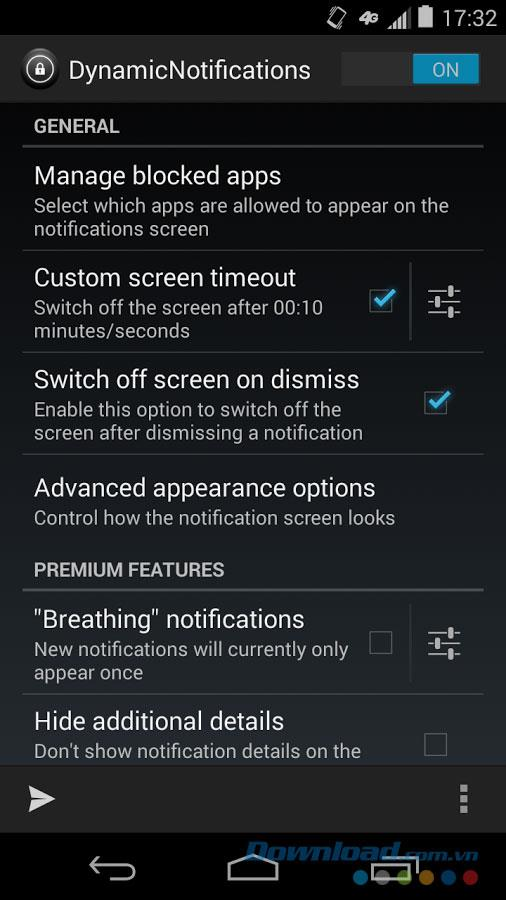 Android2.7のDynamicNotifications-Androidで通知を管理する