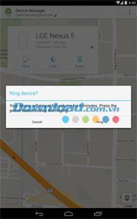 Google Find My Device für Android 2.3.008 - Finden Sie ein verlorenes Android-Handy