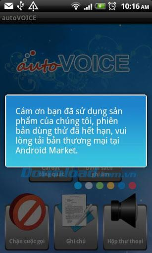 autoVoice for Android1.2.3-通話管理