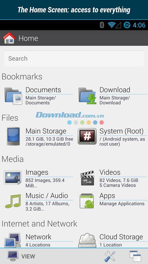 Datei-Explorer für Android 2.0.0.10 - Ein kostenloser Dateimanager für Android