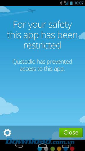 Qustodio für Android 1.0.9 - Verwalten Sie Kinder über Android-Geräte
