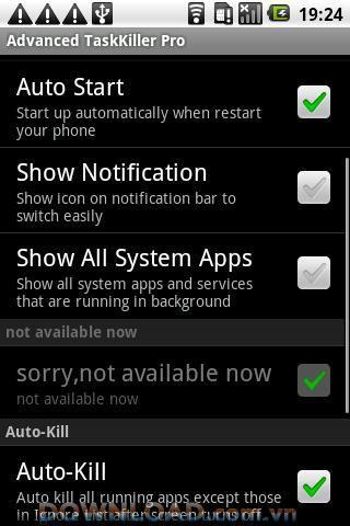 Android用のタスクキラー無料-プロセスをすばやくシャットダウンします