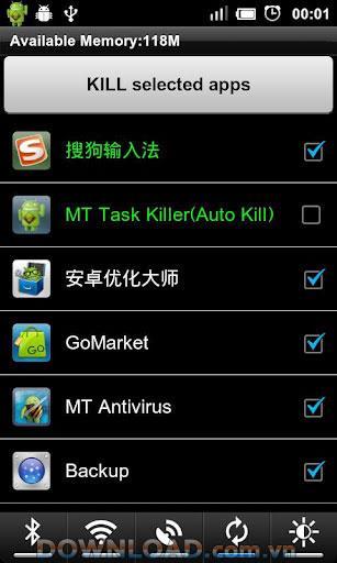 Android用MTタスクキラー-プロセスをすばやくシャットダウンします