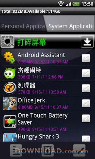 Androidのバッチアンインストール-アプリをすばやくアンインストールします