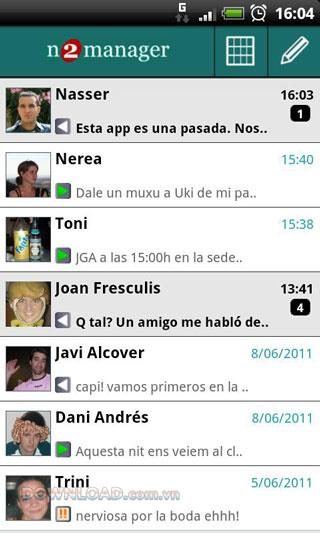 Android用N2managerSMS
