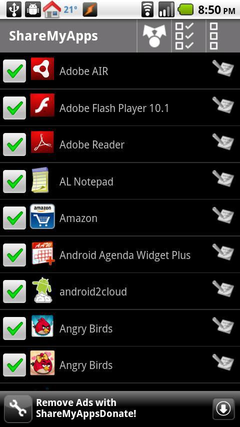 Android用ShareMyApps