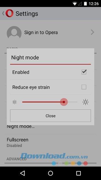 Android用OperaMini-Android上の超高速ウェブブラウザ