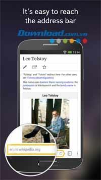 Yandex.Browser für Android - Hochgeschwindigkeits-Webbrowser für Android