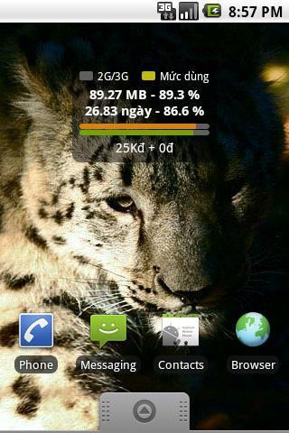 Android2.2.0用の3G無料-3Gトラフィックを管理する