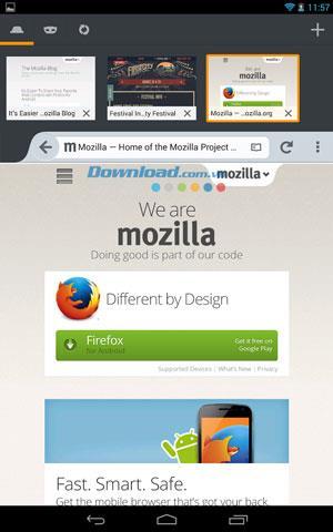 Firefox Beta für Android 68.6 - Firefox Beta Browser für Android