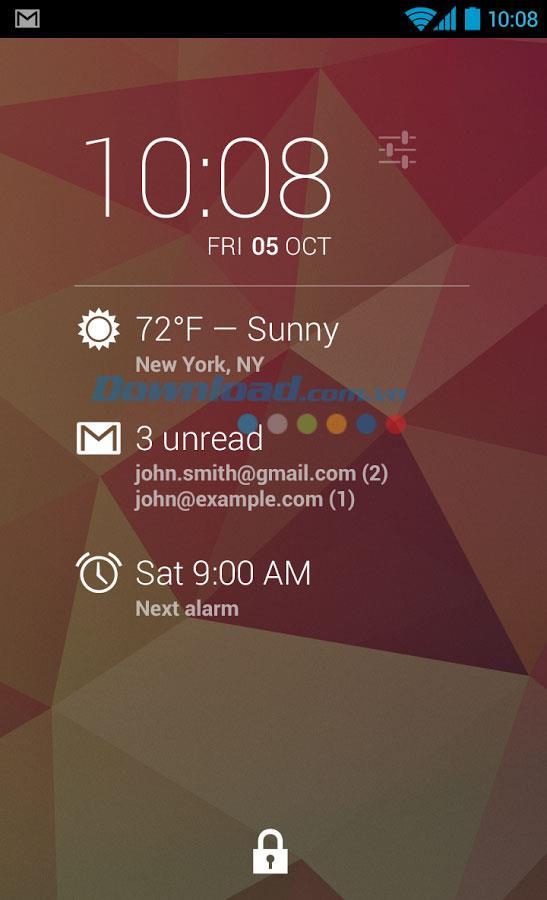 DashClock Widget for Android1.5-Android用ウィジェットウィジェット