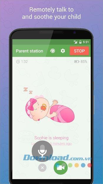 Baby Monitor 3G für Android 2.3.1 - Remote-Babysitter-Anwendung für Android
